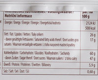 Schoko-Reis - Nutrition facts