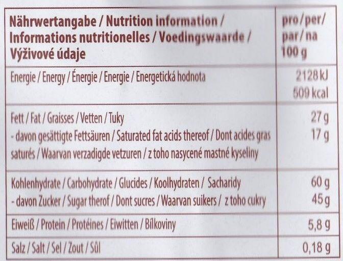 Choco-Riz - Informations nutritionnelles - fr