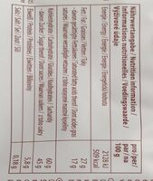 Schoko-Reis - Informations nutritionnelles - fr