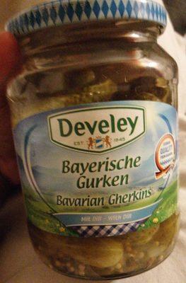 Cornichons de Bavière - Produit