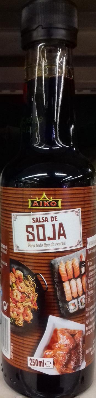 Salsa de soja - Producte