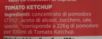 Tomato Ketchup - Ingrédients - it