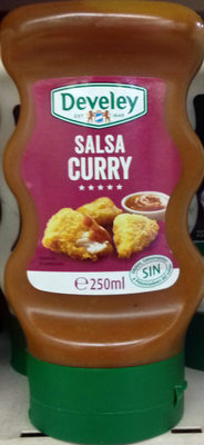 Salsa curry - Product - es
