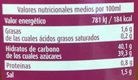 Salsa curry - Nutrition facts - es