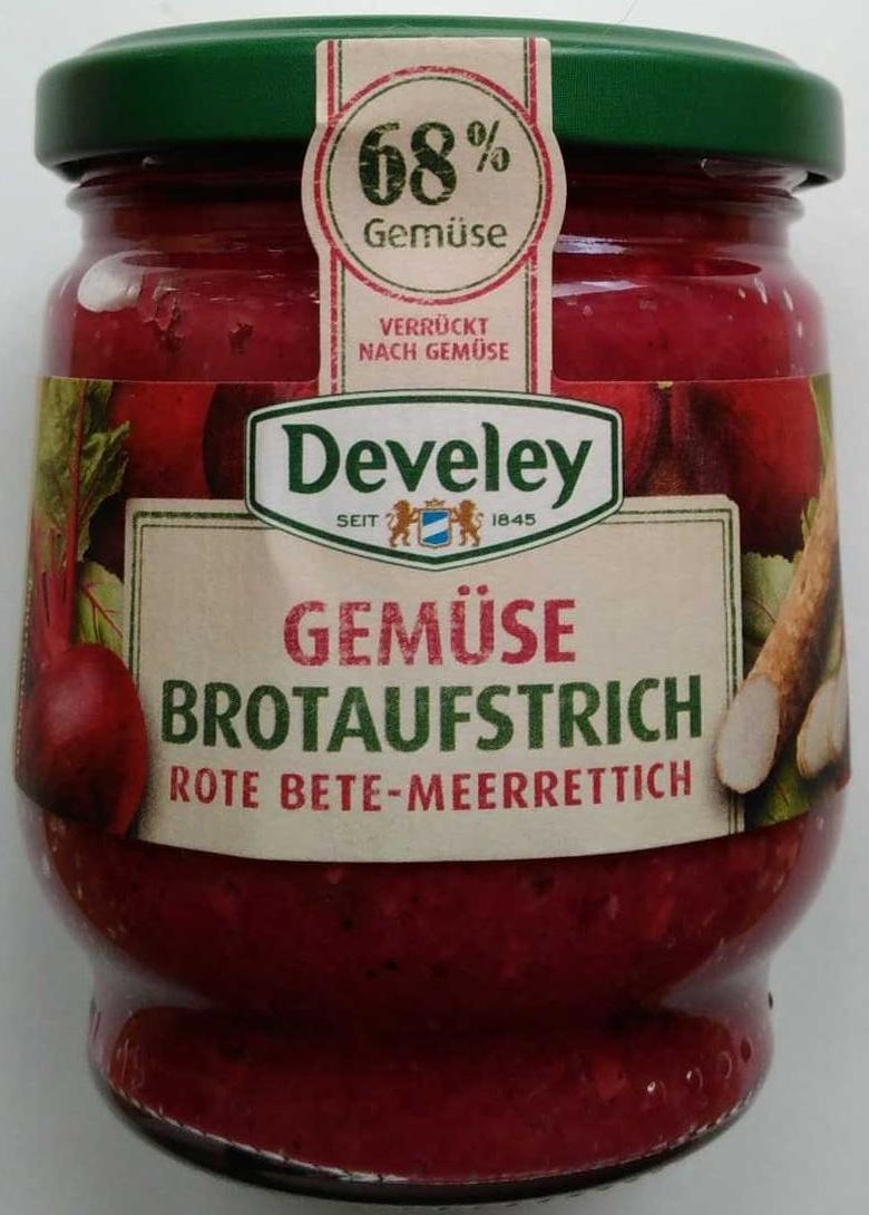 Gemüse Brotaufstrich Rote Beet - Meerrettich - Product