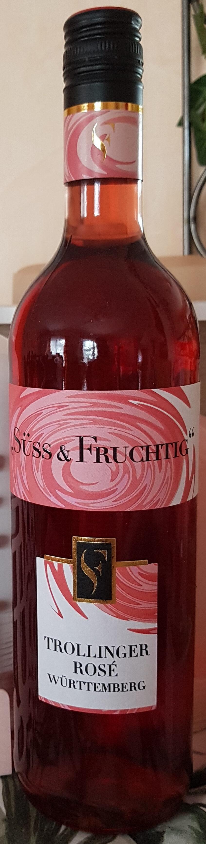 Trollinger Rosé Württemberg süss & fruchtig - Product - de
