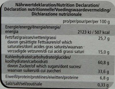 Best Selection - Informations nutritionnelles