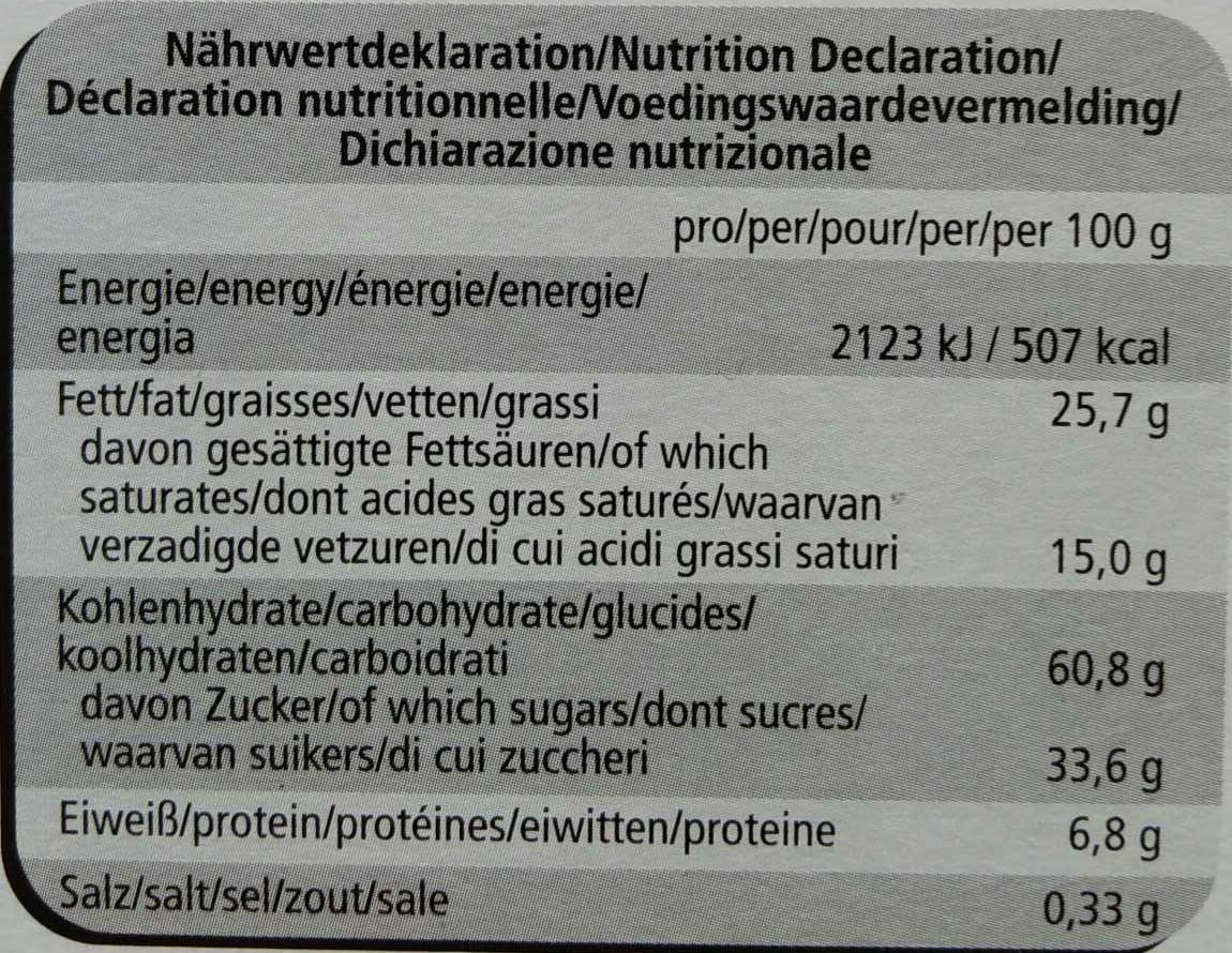 Best Selection - Nutrition facts