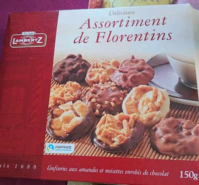 Biscuits - Florentines Assorted - Product