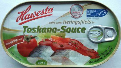 Heringsfilets in Toscana-Sauce - Produkt