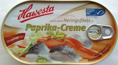 Extra zarte Heringsfilets in Paprika-Creme - Produkt