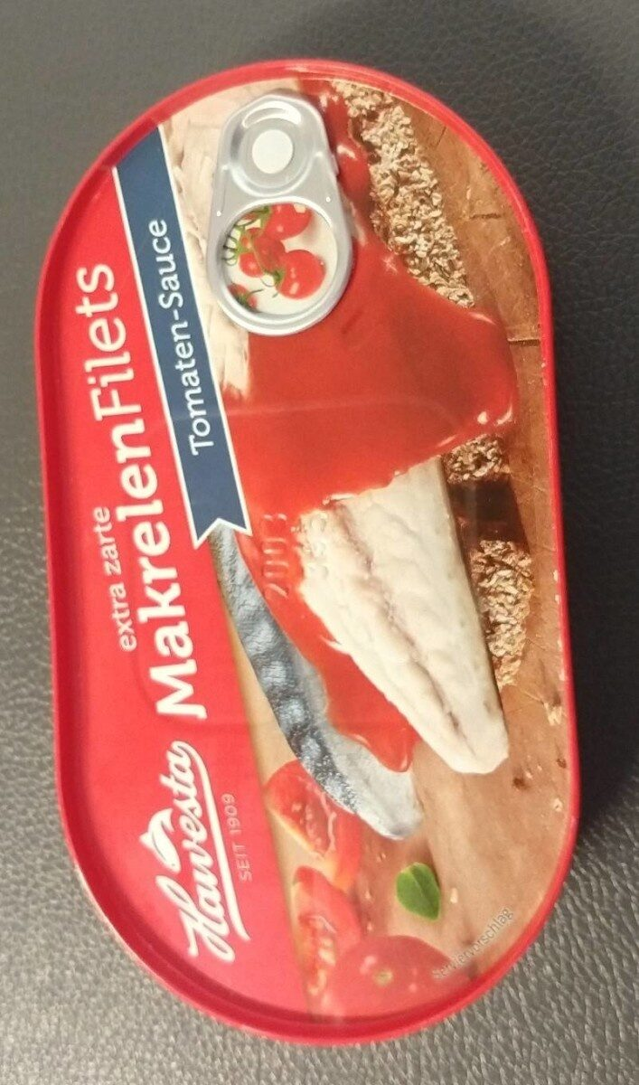 Makrelen Filets Tomaten Sauce - Prodotto - de
