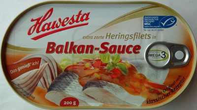 Heringsfilets in Balkan-Sauce - Produkt