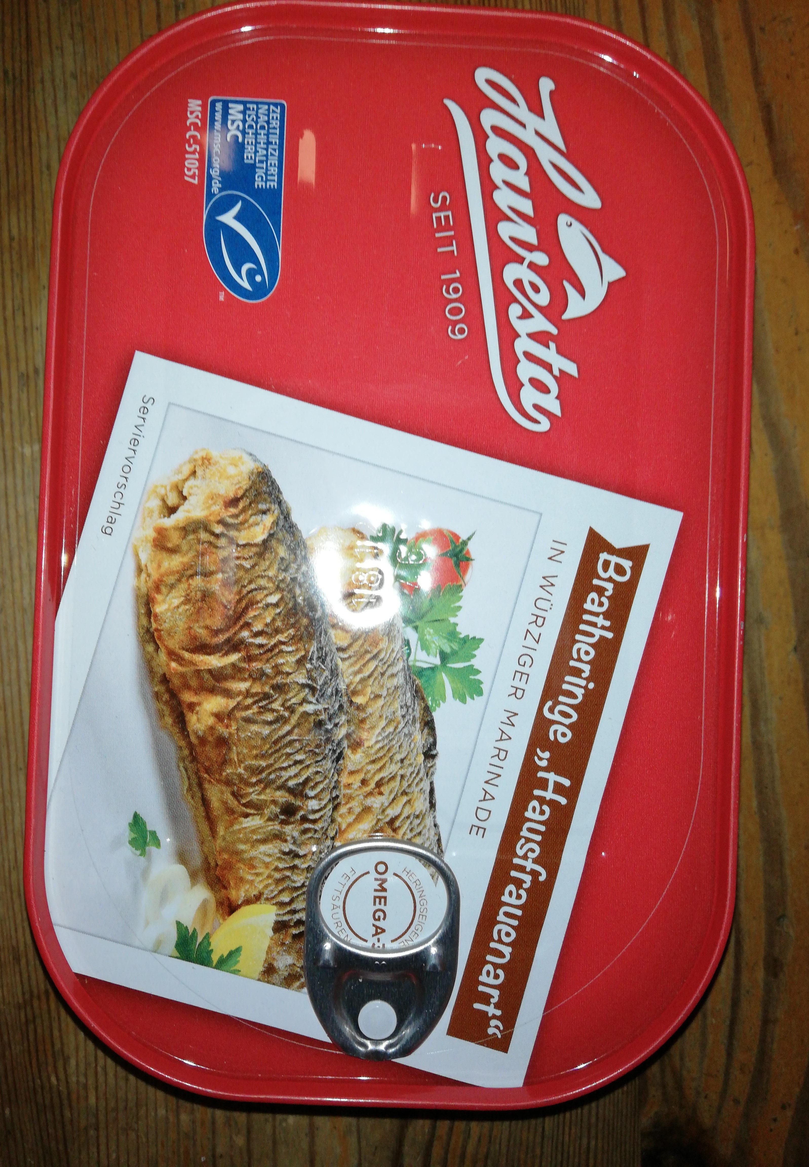 """Brat Heringe """"Hausfrauenart"""" - Produkt"""