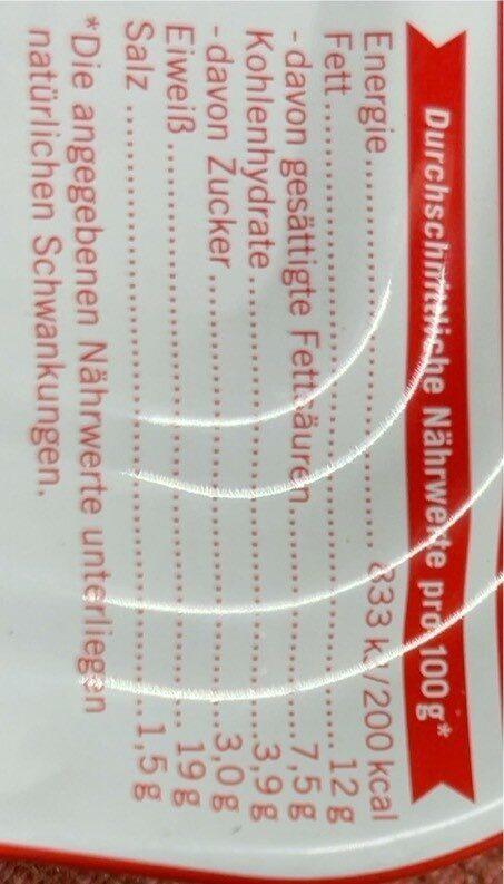 Hawesta Bratheringe nach Hausfrauenart 375 G - Nährwertangaben - de