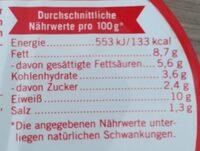 BratheringsFilets - Nährwertangaben - de