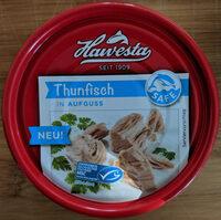 Filets de thon émincés en saumure - Produit - de