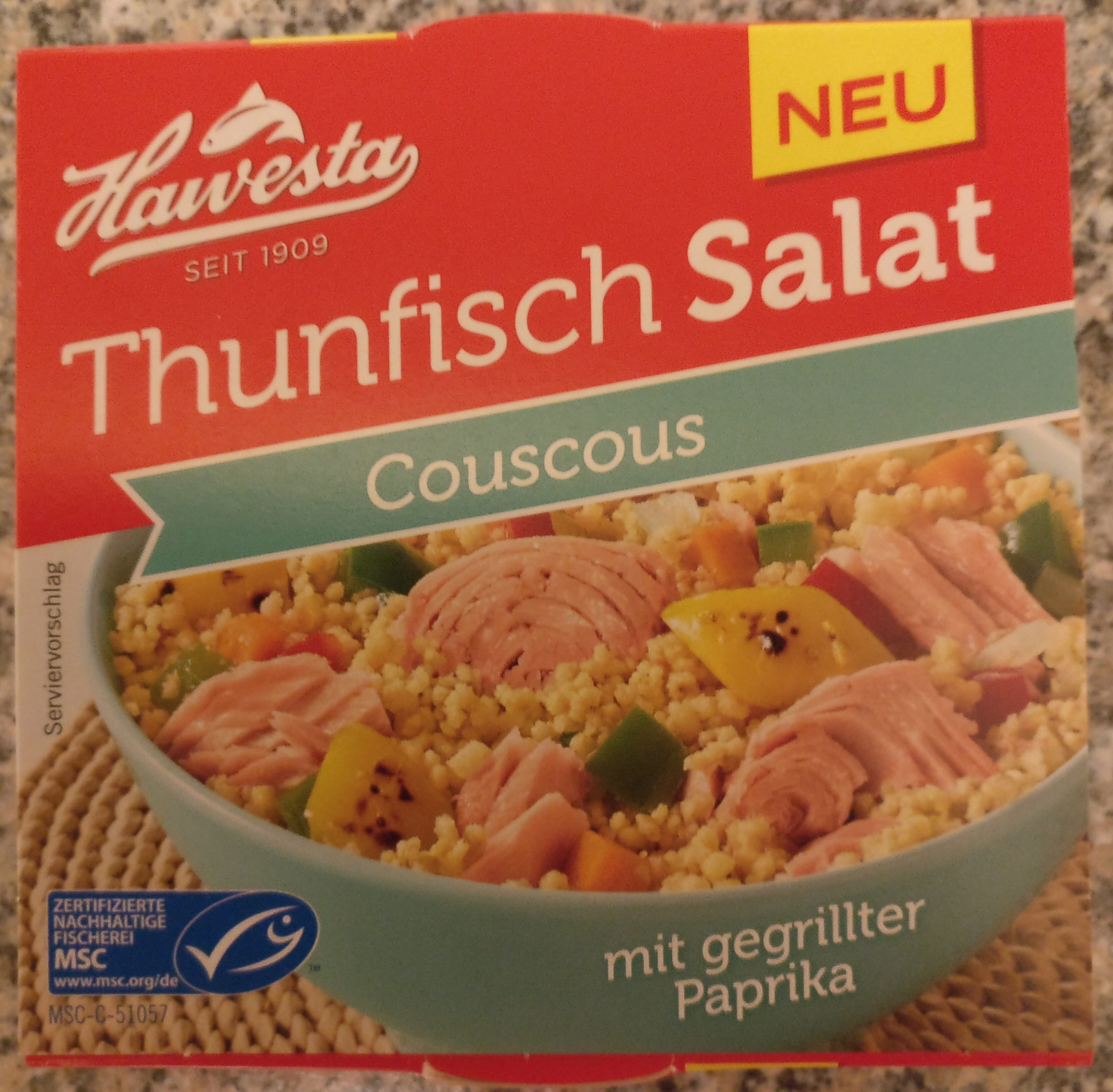 Thunfischsalat Couscous - Product - de