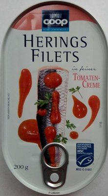 Heringsfilets in Tomaten-Creme - Produkt