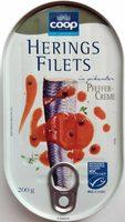 Heringsfilets in pikanter Pfeffer-Creme - Produkt