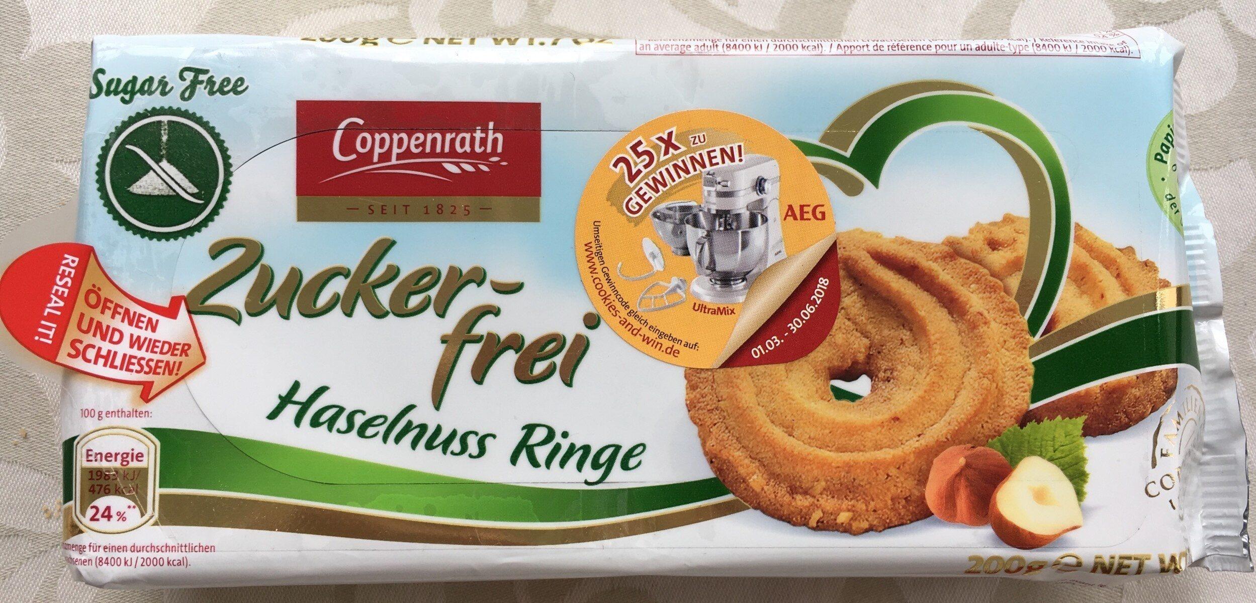Zuckerfrei Haselnuss Ringe - Prodotto - fr
