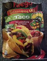 Fuego Seasoning Mix Taco - Prodotto - de