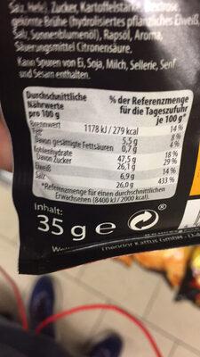 Seasoning Mix Taco - Informations nutritionnelles - de