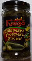 Jalapeño Peppers Sliced - Produit - de