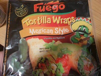 Tortillas mit Maismehl - Produkt - de