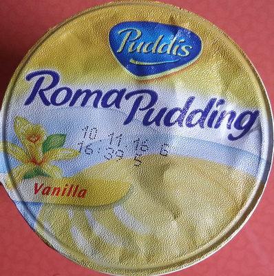 roma pudding vanille puddis 200 g. Black Bedroom Furniture Sets. Home Design Ideas