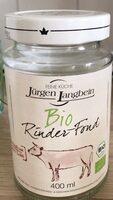 Bio Rinder-Fond - Prodotto - de