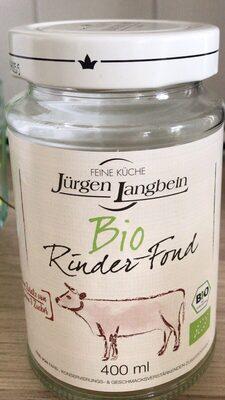Bio Rinder-Fond - Prodotto