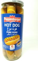 Poppenburger Hot Dog Pure Pork - نتاج - en