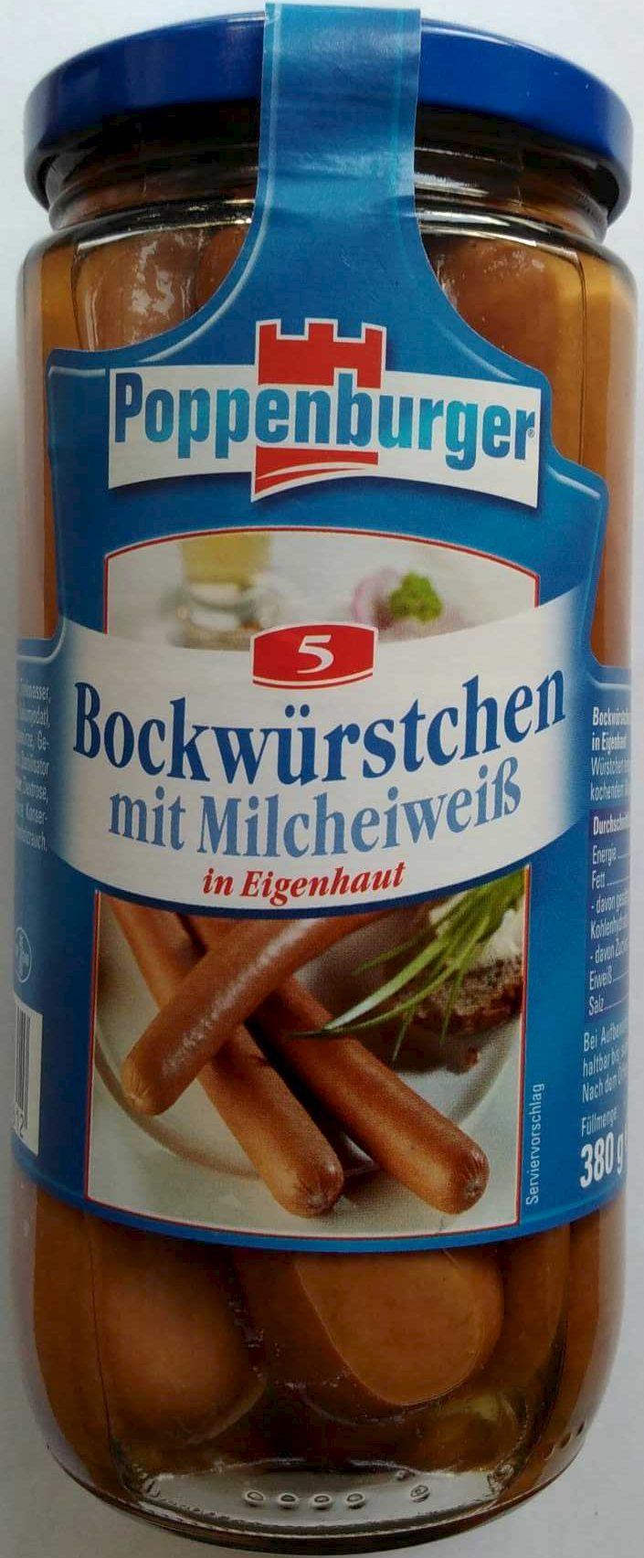 Bockwürstchen mit Milcheiweiß - Product