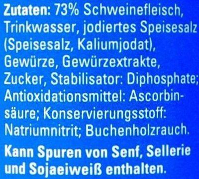 bockwurst - Zutaten - de