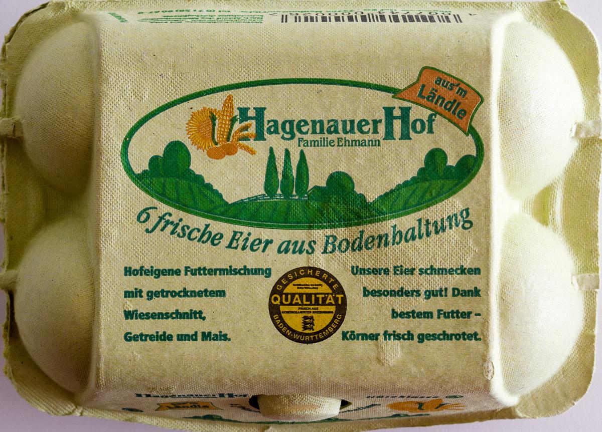 6 frische Eier aus Bodenhaltung - Product