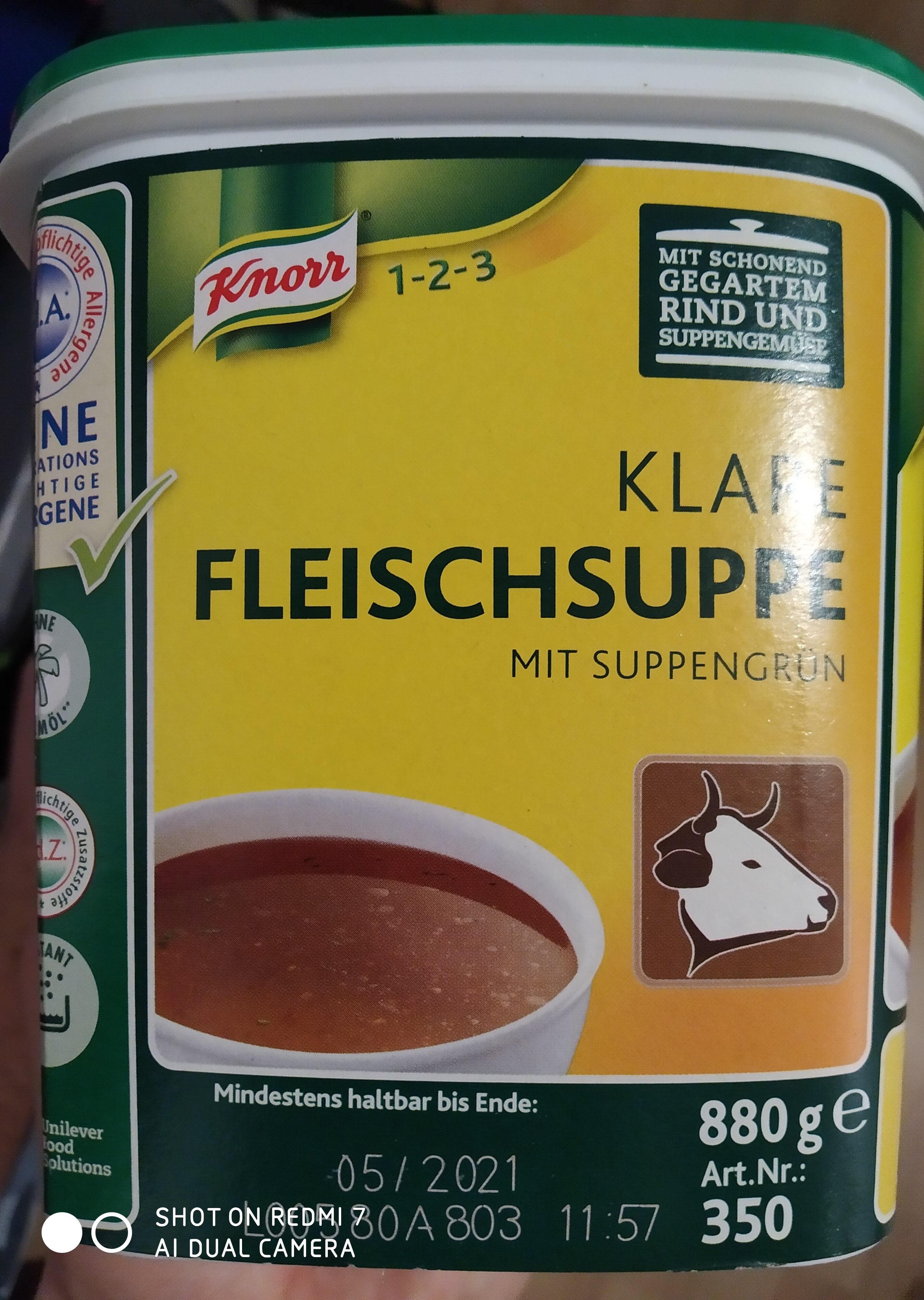 Fleischspeise knorr - Product - de
