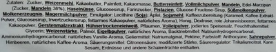 Gebäck-Variation - Ingredients