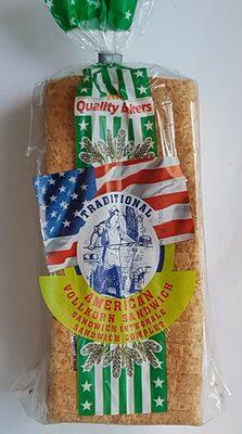 Traditional American Vollkorn Sandwich - 5