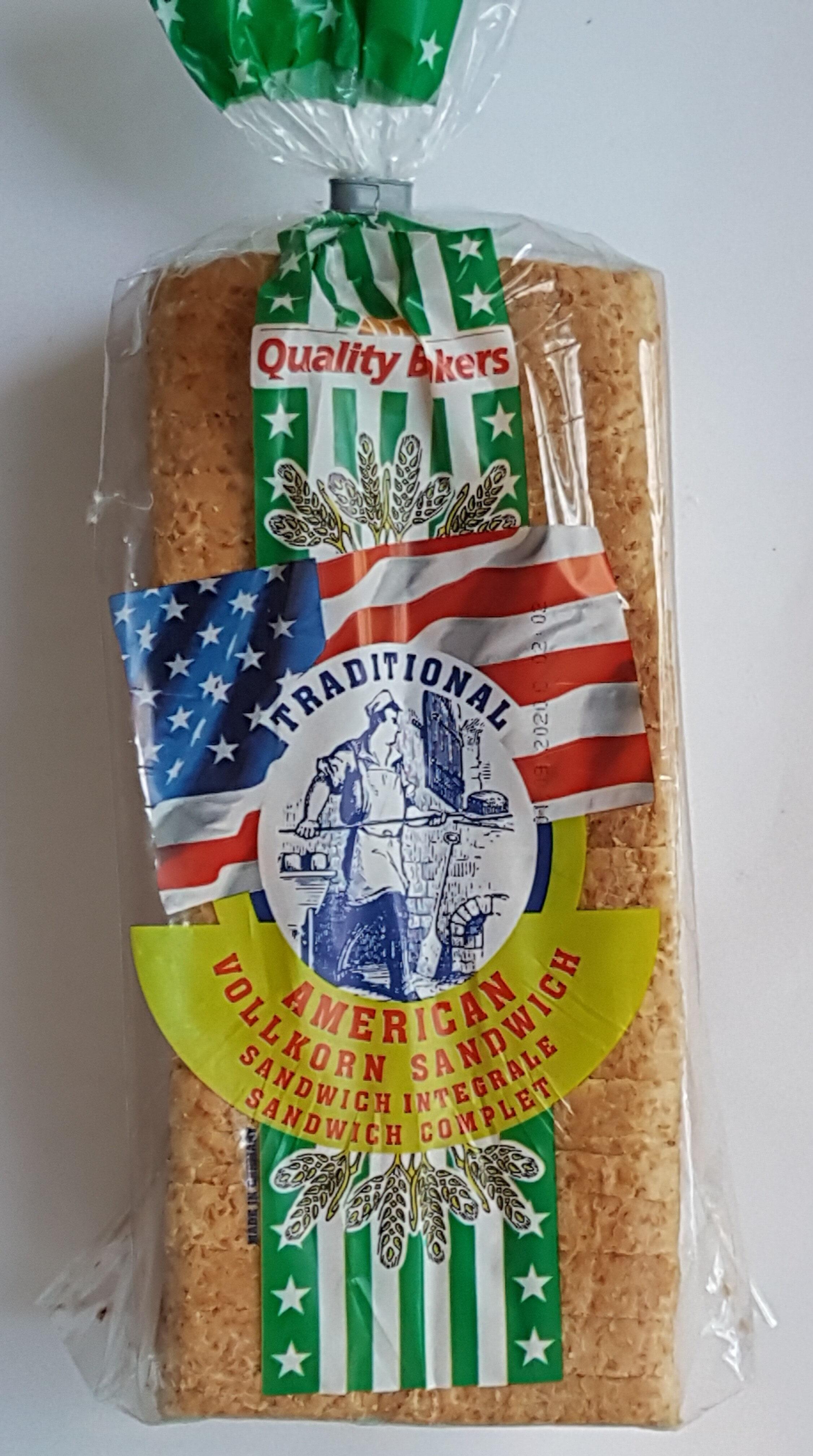 Traditional American Vollkorn Sandwich - Prodotto - fr