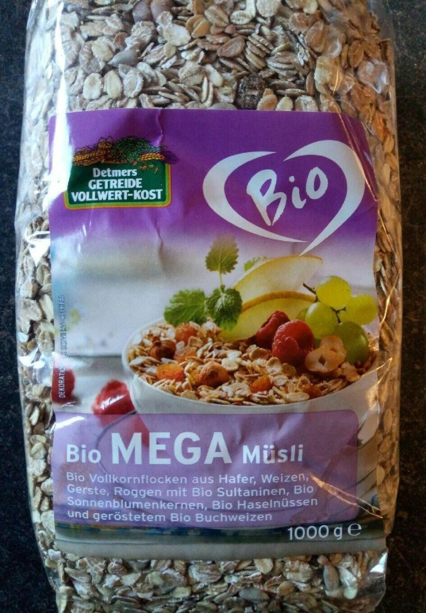 Bio Mega Müsli - Product - de