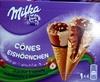 Cônes chocolat & noisette - Product