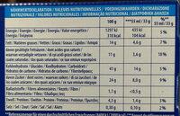 Sándwich helado de galleta oreo - Información nutricional - es