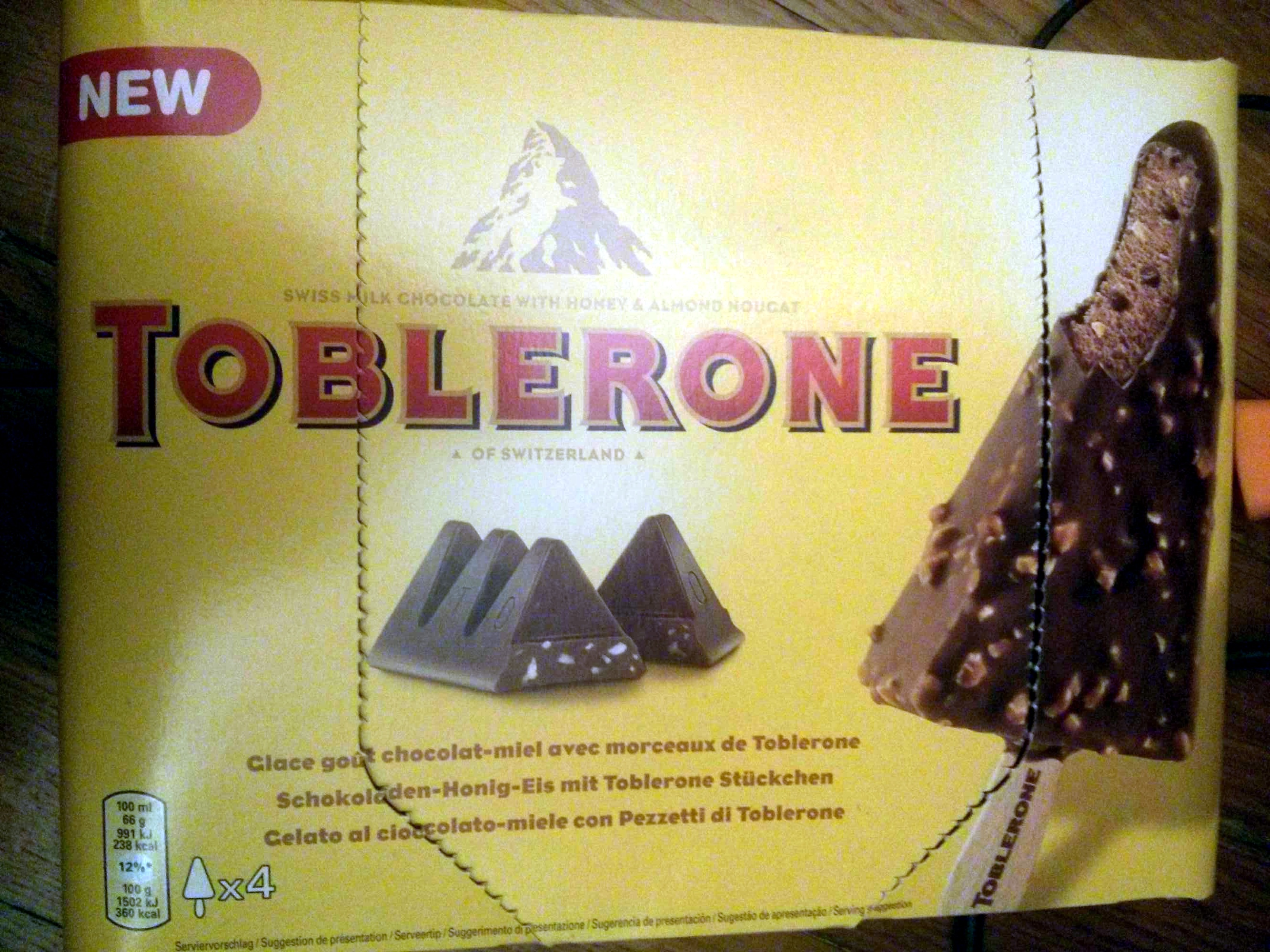 Glace au Toblerone - Product