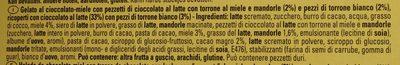 Glace au Toblerone - Ingredienti - it