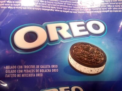 Helado con trocitos de galleta oreo - Product