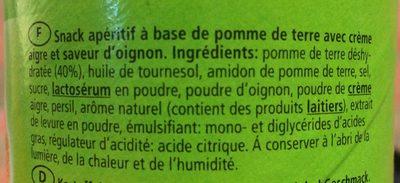 Fun - Ingredients - fr