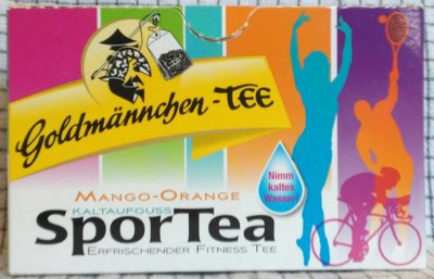 Mango-Orange Kaltaufguss Sportea - Product