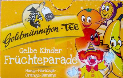 Gelbe Kinder Früchteparade - Produkt