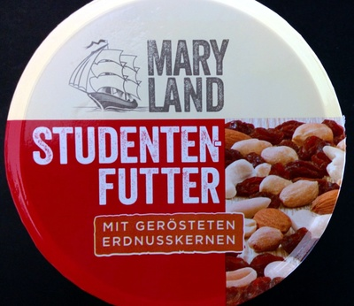 Studentenfutter mit gerösteten Erdnusskernen - Product